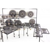 42-Note Thai Chromatic Tuned Gong Set