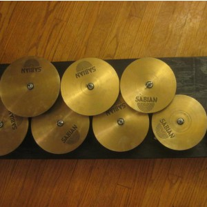 Sabian Tuned Cymbal Discs Bass Crotales